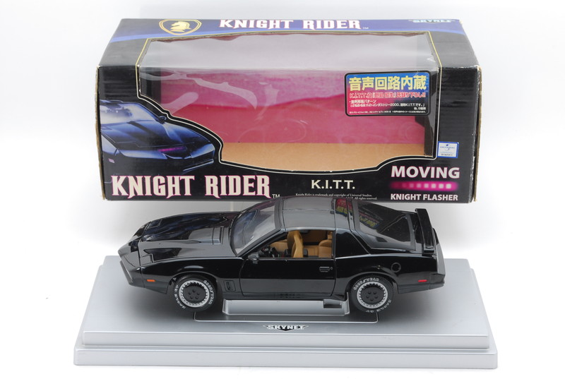 Fun drive? (Introduction of AOSHIMA SKYNET Knight Rider K I T T  1